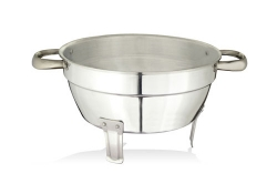 Tomato Colander with stand, Stainless Steel handles