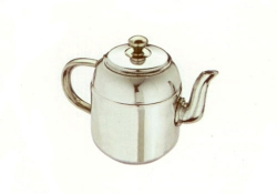 Tea Pot, Stainless Steel handle